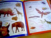 ヒンクラー スティッカーブック Creepy-crawlies