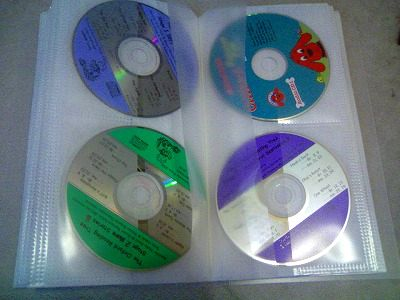 CD・DVDの収納