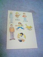 ORT キャラクター 印刷 手作り 人形