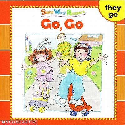 Sight Word Readersのセット絵本の中の1冊です-Go,go